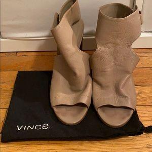 Vince Open Toe Heels